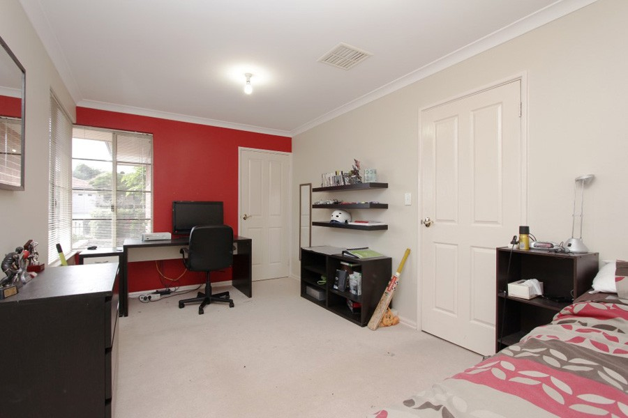 Bedroom of a Second Storey Addition Project in Currambine