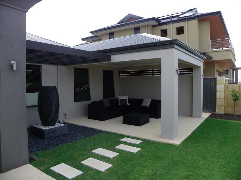 Jindalee Home Extension Alfresco Area