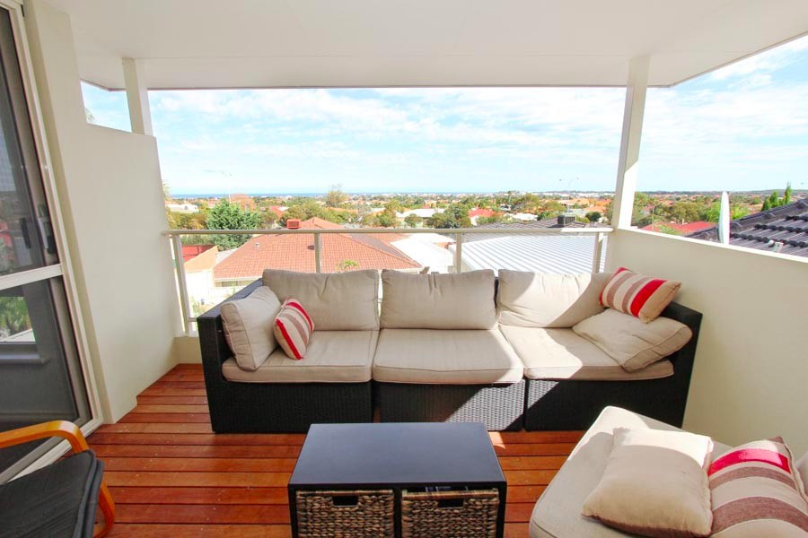 Balcony of a Second Storey Addition in Currambine