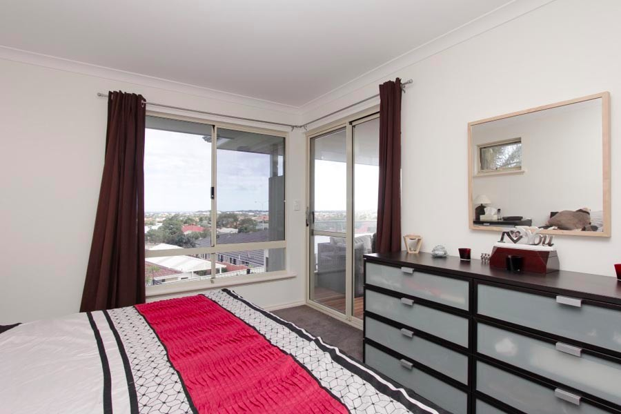 Currambine Second Storey Addition Bedroom Balcony