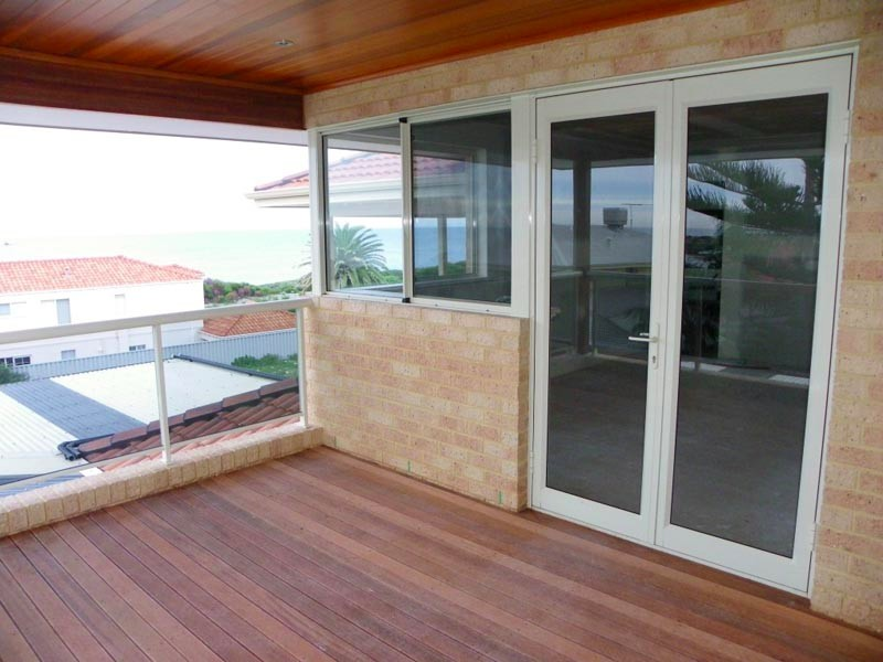 Ocean Reef Balcony with French Doors and Windows